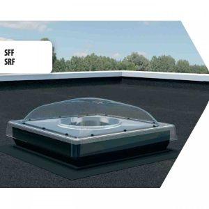 Tunel de lumina SRF acoperis terasa