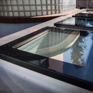 Ferestre acoperis terasa fără deschidere